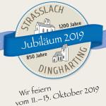Logo - Jubiläum 1200 Jahre Straßlach und 850 Jahre Dingharting