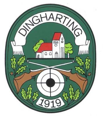 Vereinslogo der Schützengesellschaft Dingharting, entworfen von Werner Hack