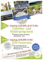 Plakat Samstag Nachmittag