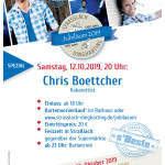 Plakat Chris Boettcher 12.10.2019