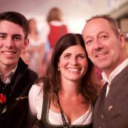 Zweiter Bürgermeister mit Familie