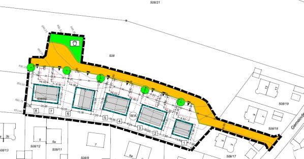 Entwurf Bebauungsplan, Stand 07.08.2020, Talfeld-Nord
