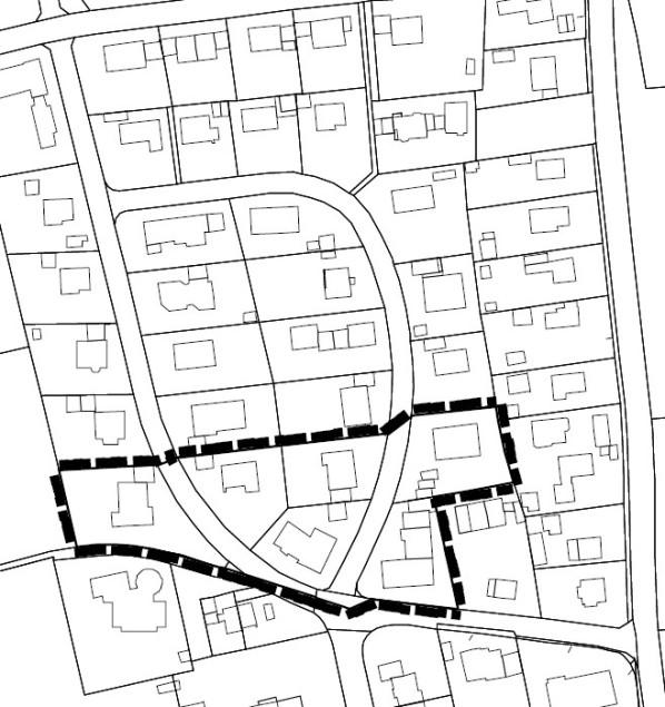 Lageplan Straßlach-Unterfeld, 1. Änderung - Stand 27.10.2020