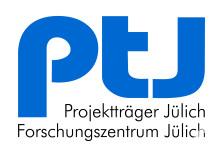 Projektträger Jülich Forschungszentrum Jülich - Logo